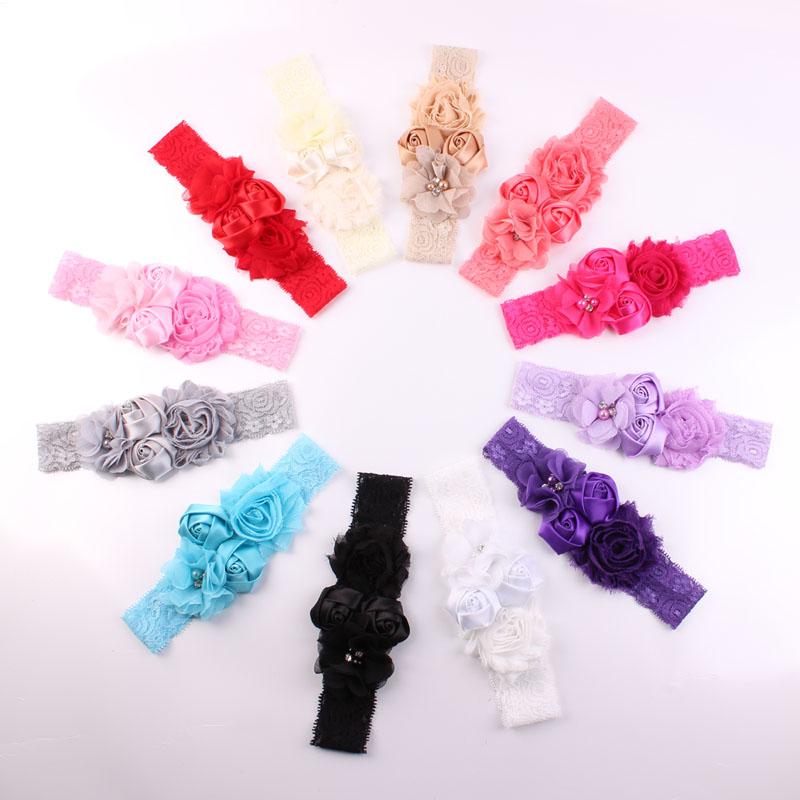 Baby Headband Chic Flower Girls – NA2E.COM d94d4a2e2b94